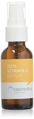 Best Vitamine * Sérum Vitamine C 20% (30 ML) * Naturel et organique * Contient des vitamines C & E, Acide férulique, sérum acide Hyaluronique * Sérum Vitamine C pour soin du visage (puissant anti-oxydant et anti-âge) * Garantie 100% satisfait