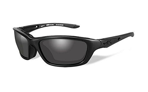 Wiley X Unisex Brick Sunglasses, Matte Black, Medium/Large