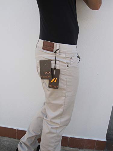6f6f21aafafd HOLIDAY JEANS Pantalone PILOR MOD. Plat (Pesante/Invernale) Made in Italy  Uomo