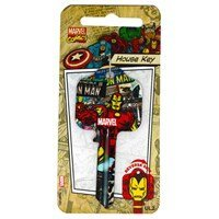 Marvel Comics House Schlüssel-Iron Man-UL2passt 99% von Türen
