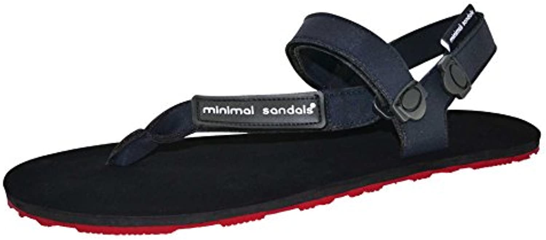 Minimal Sandals - Sandalia Huarache Vibram Deporte Correr Barefoot (45, Rojo)