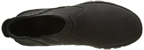 Caterpillar Herren Hoffman Chelsea Boots Schwarz (Black)