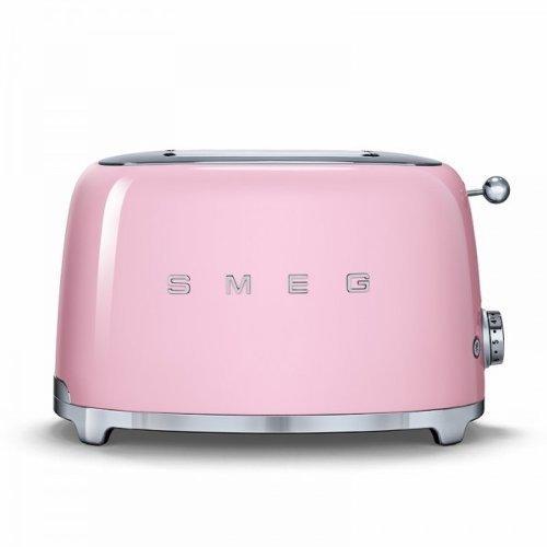smeg-tsf01pkeu-tostador-de-2-de-cadillac-rosa-color-rosa-cocina-pequeno-dispositivo-nostalgie