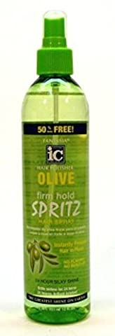 Fantasia Spritz Olive Firm Hold 12oz Bonus Pump (2 Pack) by Fantasia