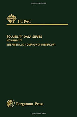 Intermetallic Compounds in Mercury (IUPAC Solubility Data)