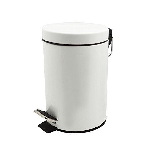 Harbour Housewares Cubo Basura baño 3l Pedal -