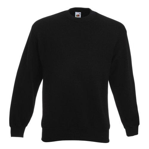 Fruit Of The Loom Unisex Premium 70/30 Sweatshirt (M) (Schwarz) F324N bestellen!!