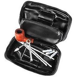 Pfeifen-Einsteiger-Set inkl. Feuerzeug 10tlg Angelo Pfeifenset
