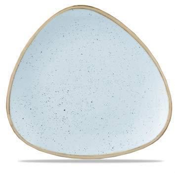 Churchill Stonecast -Triangle Plate Teller- Durchmesser: Ø22,9cm, Farbe wählbar (Duck Egg Blue) Blue Plate