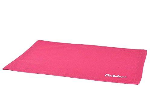 haga-wohnideen.de 4 Stück Outdoor TISCHSET St.Tropez pink Placemat Gartentisch Tisch- Platzset abwaschbar 30cmx40cm