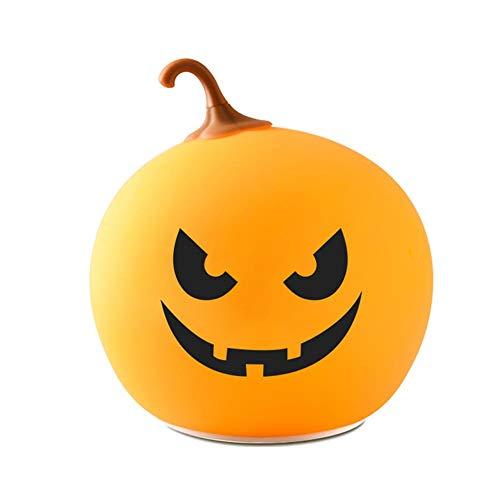 Halloween Dekor Skelett Kürbis Lichter Halloween Kürbis Lampe USB wiederaufladbar für DIY Halloween Dekoration ()
