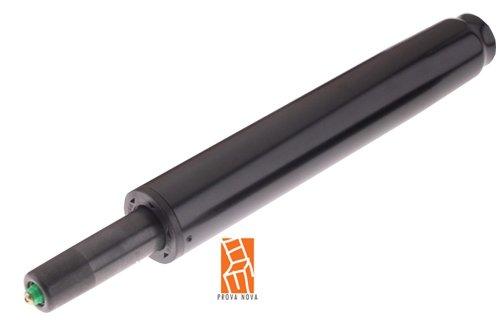 Gasfedersäule, HockerBürohocker-Gasfeder, mit Tiefenfederung, Länge 305mm, Hubbereich ca. 368 - 568 mm, Hub 200 mm, Farbe schwarz