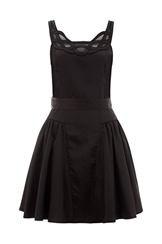 Voodoo Vixen Kleid SOPHIA DRESS 8273 Schwarz
