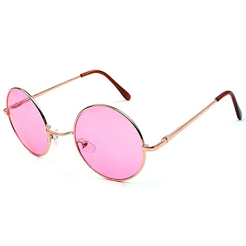 OULN1Y Sport Sonnenbrillen,Vintage Sonnenbrillen,Candy Color Round Sunglasses Women Fashion Sun Glasses Women Mirror Classic Vintage Uv400