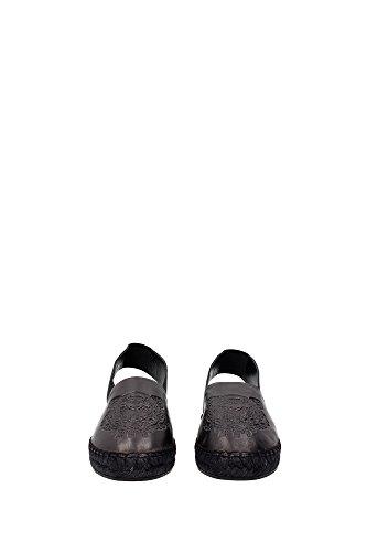 K61165PL511ES18799 Kenzo Espadrilles Femme Cuir Noir Noir
