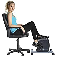 GymMate - Turns any chair into an exercise bike - Premium Quality Magnetic Mini Exerciser - Silky smooth, quiet impact free resistance excellent for home, office or therapeutic use and a great alternative to cumbersome upright bikes. Work out both legs and arms as well as the cardiovascular system. Various Colours