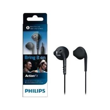Philips ActionFit Sports SHQ 1200tbk/00 In-Ear Headphones (Black)