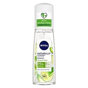 Nivea Naturally Good Deodorant, Bio Aloe Vera, 75 ml