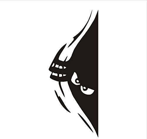 Wandaufkleber Sneaky Spähen Monster Pvc Abnehmbare S Niedliche Monster Halloween Wandkunst Aufkleber Für Kinderzimmer Designs Wohnkultur 62X24 Cm