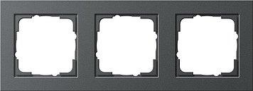 Preisvergleich Produktbild Gira 021323 Rahmen 3-f.antharzit E2