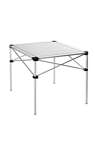 KingCamp | Mesa plegable de aluminio portátil, muy ligera y estable, para...
