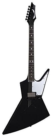 Dean Guitars Zero Punk Dave Mustaine Signature corps solide de la guitare électrique–Noir