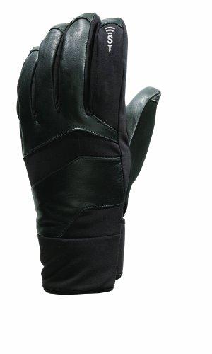 Seirus Isolierte Handschuhe (Seirus Innovation 1174 Xtreme Herren-Handschuh aus Leder, wetterfest, leicht, Polartec-Form, wasserdicht, mit Sound-Touch-Screen-Technologie, Herren, 1174, Schwarz, XL)