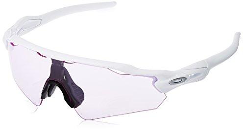 Oakley Mens Radar EV Path (A) Sunglasses,Polished White