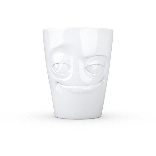 Fiftyeight d'verschmitzt Mug en Porcelaine 12 x 10 x 10 cm Blanc