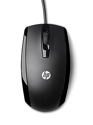 HP Souris Optique Filaire X500 Noir de hp - Souris