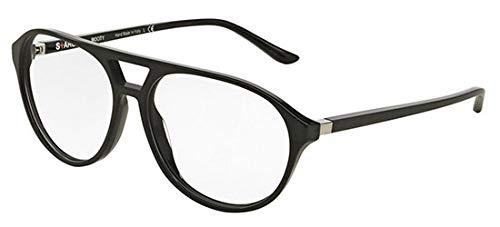 Starck eyes occhiali da vista 0sh3028 crystal black matte black uomo