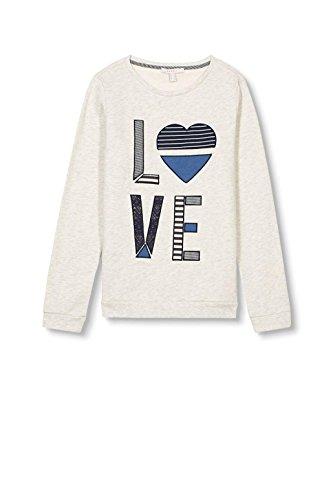 ESPRIT Damen Sweatshirt Grau (Light Grey 5 044)