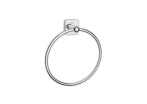 Roca A816659001 Toallero de anilla (Posibilidad de instalación mediante tornillería o adhesivo), Cromado
