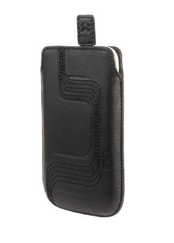 Artwizz Leather Pouch Wave für iPhone 3G / 3GS Ledertasche schwarz Iphone 3g Wave