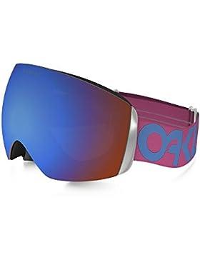 OAKLEY Gafas de esquí Snowboardbrille Flight Deck XM Factory Pilot Pink Blue, 130