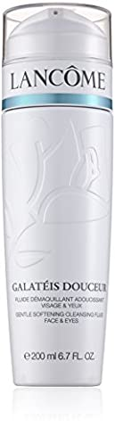 Lancome Galateis Douceur Gentle cleansing fluid for face and eyes 200ml, 1er Pack (1 x 200 ml)