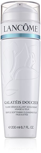 Lancome Galateis Douceur Gentle Softening Cleansing Fluid, Face&Eyes, Donna, 200 ml