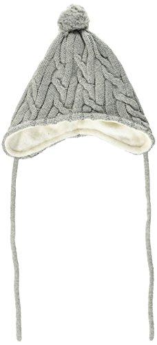 Sterntaler Baby-Mädchen Mütze Strickmütze, Grau (Silber Melange 542), 41 (Baby-mädchen-mütze)