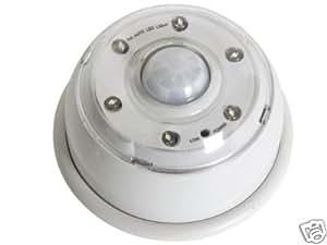 LAMPE 6 LED CAPTEUR DE MOUVEMENT A DETECTEUR INFRAROUGE