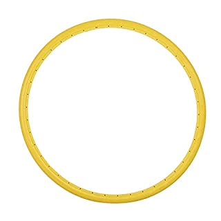 Bicycle Tires 700 * 23C,Lanking Microcellular Bicycle Dead Fly Solid Tires Free Pneumatic(Yellow)