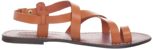 Chinese Laundry Aasha Femmes Cuir Sandale Burnt orange