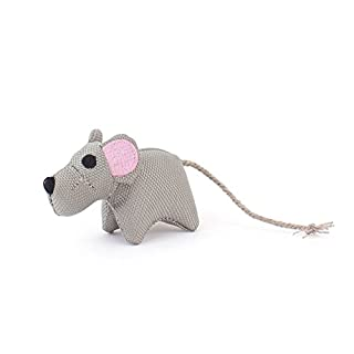 Beco Catnip Toy - Millie the Mouse made from Recycled Plastic Bottles with North American Catnip - Toy for Cats