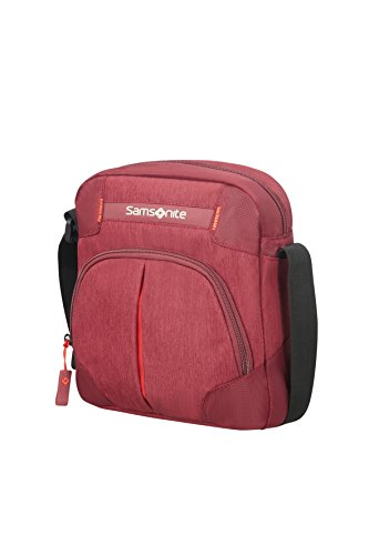 SAMSONITE Rewind Tablet Cross Over 7.9 Zoll Umhängetasche, Granita Red