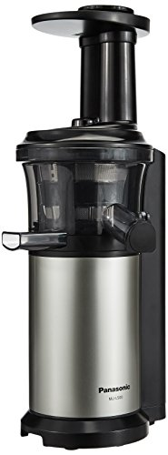 Panasonic MJ-L500 150-Watt Cold Press Slow Juicer (Silver)
