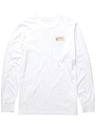 Herren Langarmshirt Billabong Haze T-Shirt White
