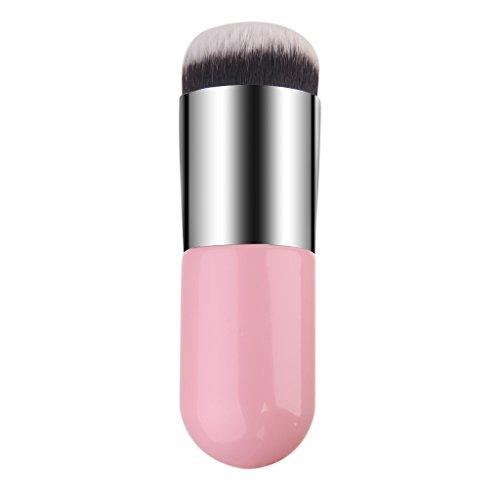 pro-pinceau-fond-de-teint-brosse-cosmetique-outil-argent-et-rose