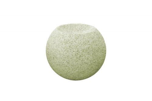 Quellkugel aus Granit gelb Größe 60 cm