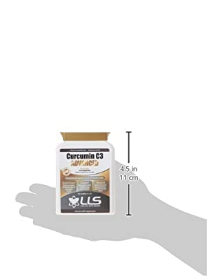 "LLS Curcumin C3 Advanced | High Quality Turmeric Curcumin C3 Complex® with 95% Curcuminoids + BioPerine®, Vitamin D3, Tomato and Ginger Root | 60 Capsules | Produced in the UK under GMP License | Love Life Supplements - ""Live Healthy, Love Life."""