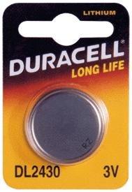 Duracell - Pila especial para dispositivos electrónicos - 2430 Blister Pequeño x 1