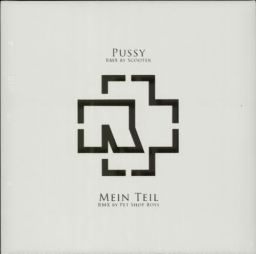 """Rammstein - Pussy / Mein Teil 12\"""" Vinyl Record Store Day 2014 RSD (UK-only limited to 1000 copies)"""